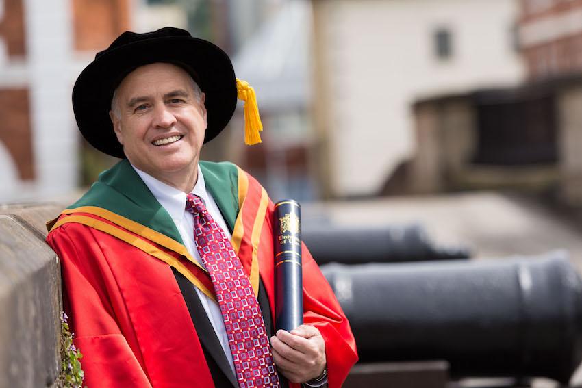 Honorary Graduate, Dr Thomas DiNapoli
