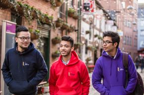 International students - Belfast