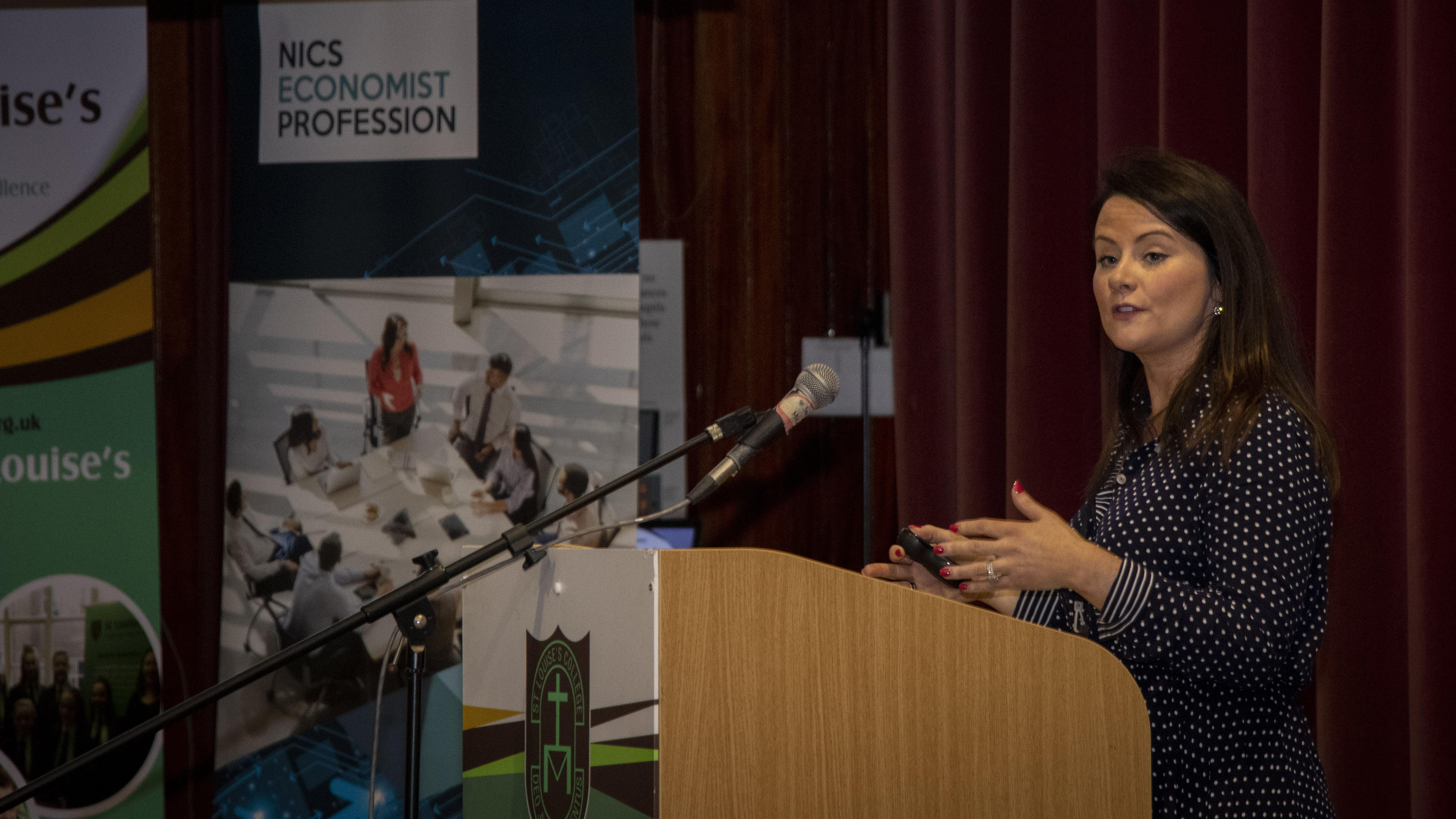 Ulster University school conference inspires next generation of economists