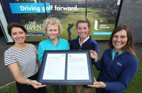 Ulster first university to sign up to The R&A Women in Golf Charter