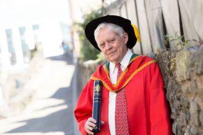 Honorary Graduate, Dr Steve Coyle