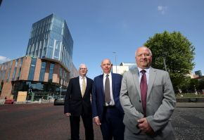 Ulster University leaders look forward to a new era in the heart of Belfast