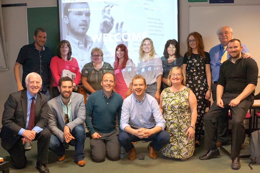 Ulster University sign language teaching graduates make history