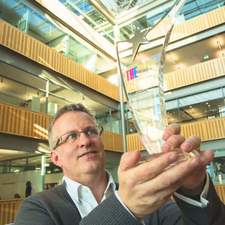 Ulster University student experience recognised at national THE Awards