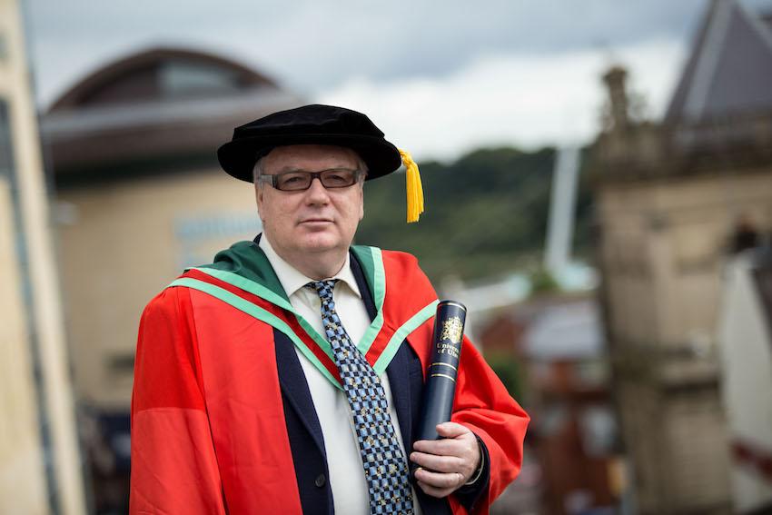 Honorary Graduate, Dr Seán Doran