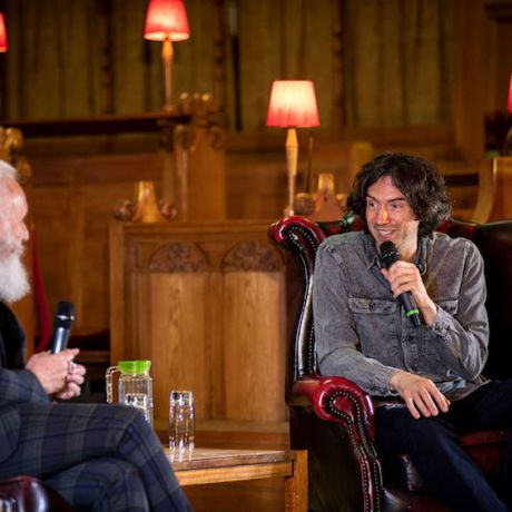Honorary graduate Gary Lightbody talks candidly about highs and lows of his career so far