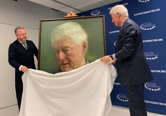 Former US President Bill Clinton announces transatlantic peace scholarships