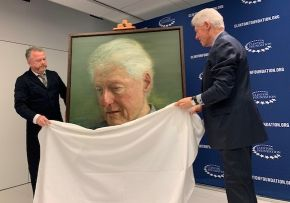 Former US President Bill Clinton announces transatlantic peace scholarships