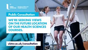 Public views sought on the future location of Ulster University's School of Health Sciences