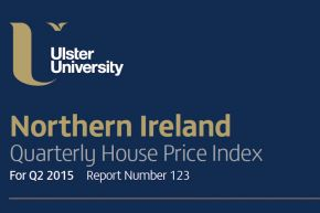 NI House Price Index Q2 2015
