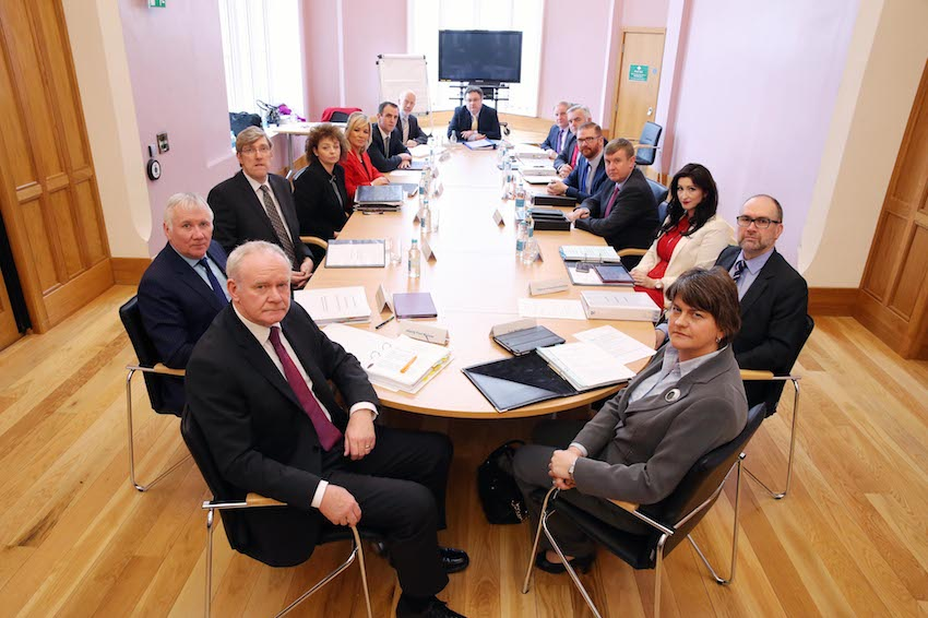 Ulster University hosts the Northern Ireland Executive