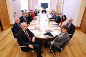 NI Executive meeting at Magee