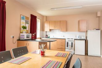 Kitchen area in a 5 bedroom ensuite apartment-Cranagh