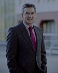 Ulster University Vice-Chancellor, Professor Richard Barnett