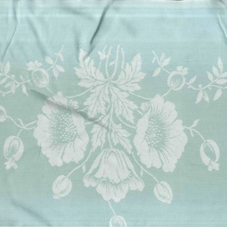 Selection of linen designs and photographs of the Finlay Family