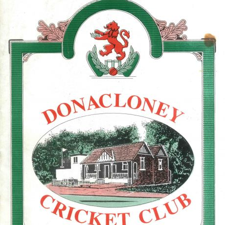 Cricket club book