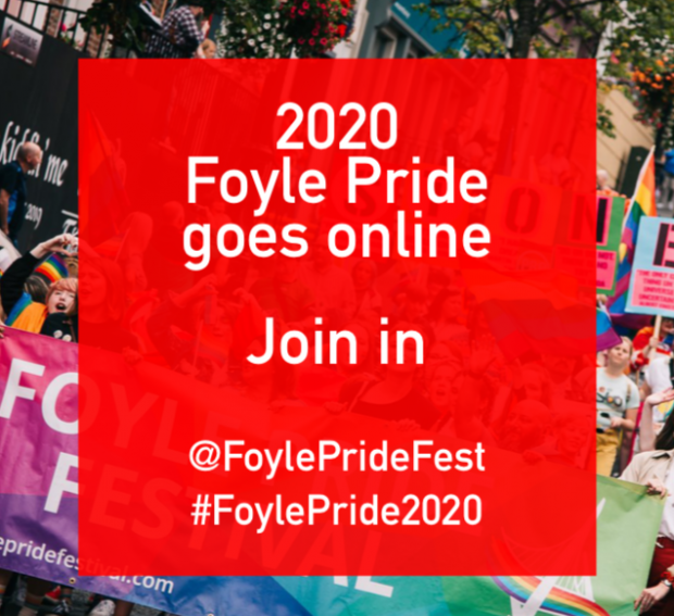 Celebrating Foyle's Virtual Pride Parade