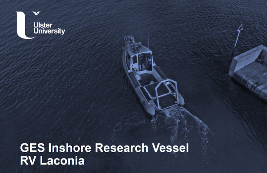 Geography and Environmental Sciences Research boost with arrival of Inshore Survey Vessel