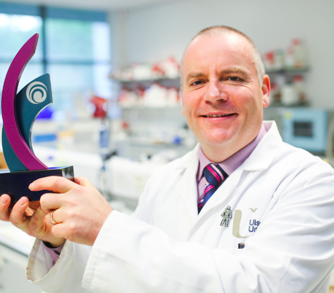 Ulster Research company SonoTarg named regional winner at InterTradeIreland contest