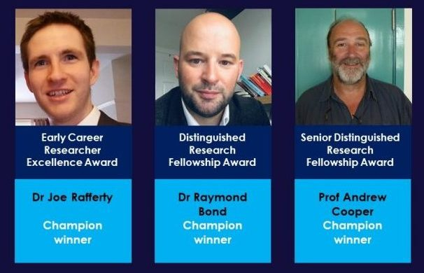 Distinguished Research Awards winners for 2020