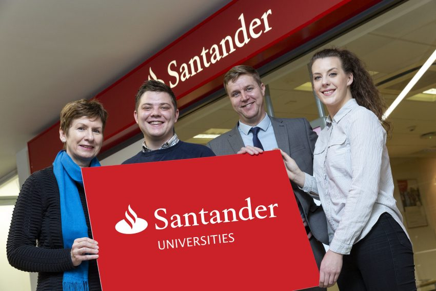 Santander Universities – Long-term investor in Ulster Students