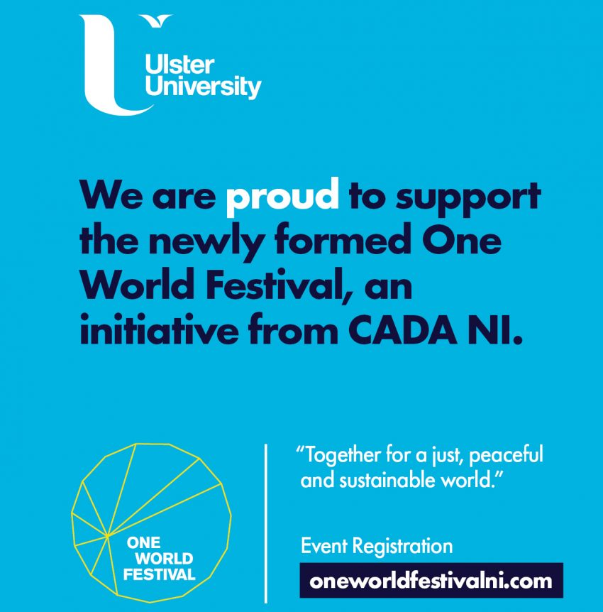 Ulster University to take part in One World Festival